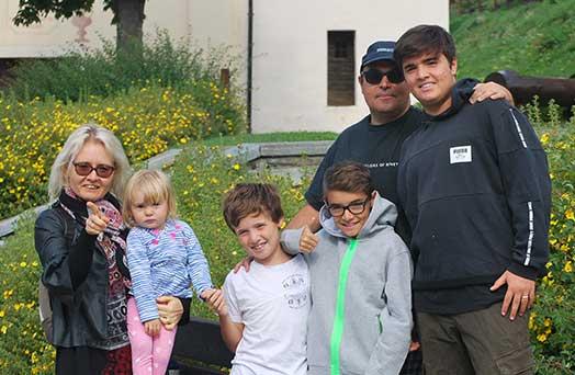 blog di famiglia Aosta - il sorriso non ha età