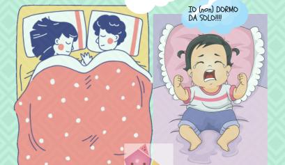 io dormo da solo